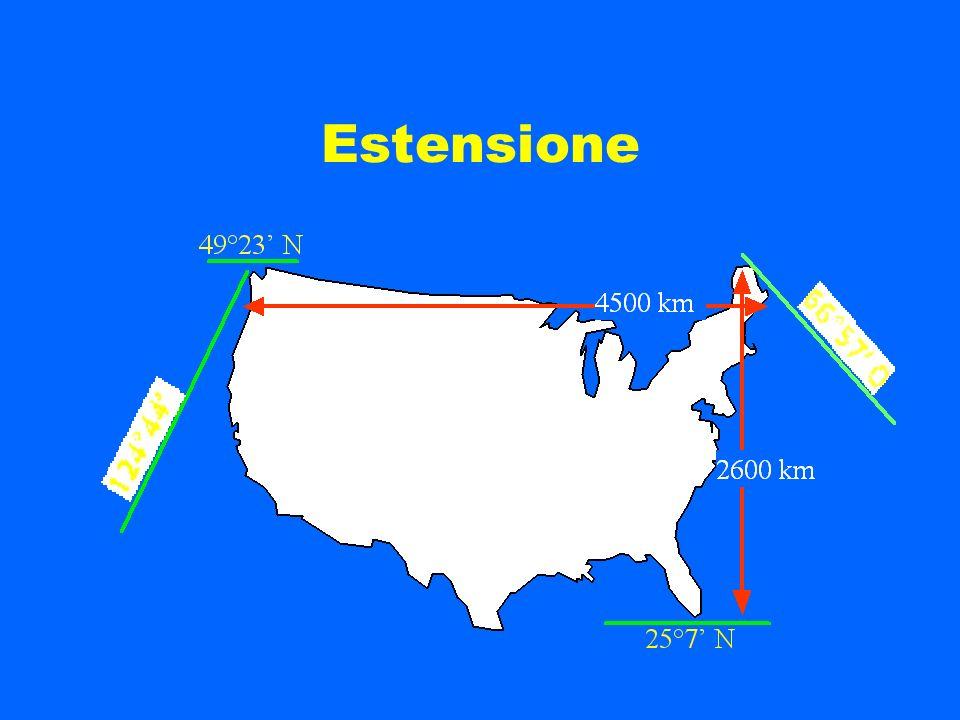 Settembre 2000 Prof.ssa chiara Grassi Geografia degli USA
