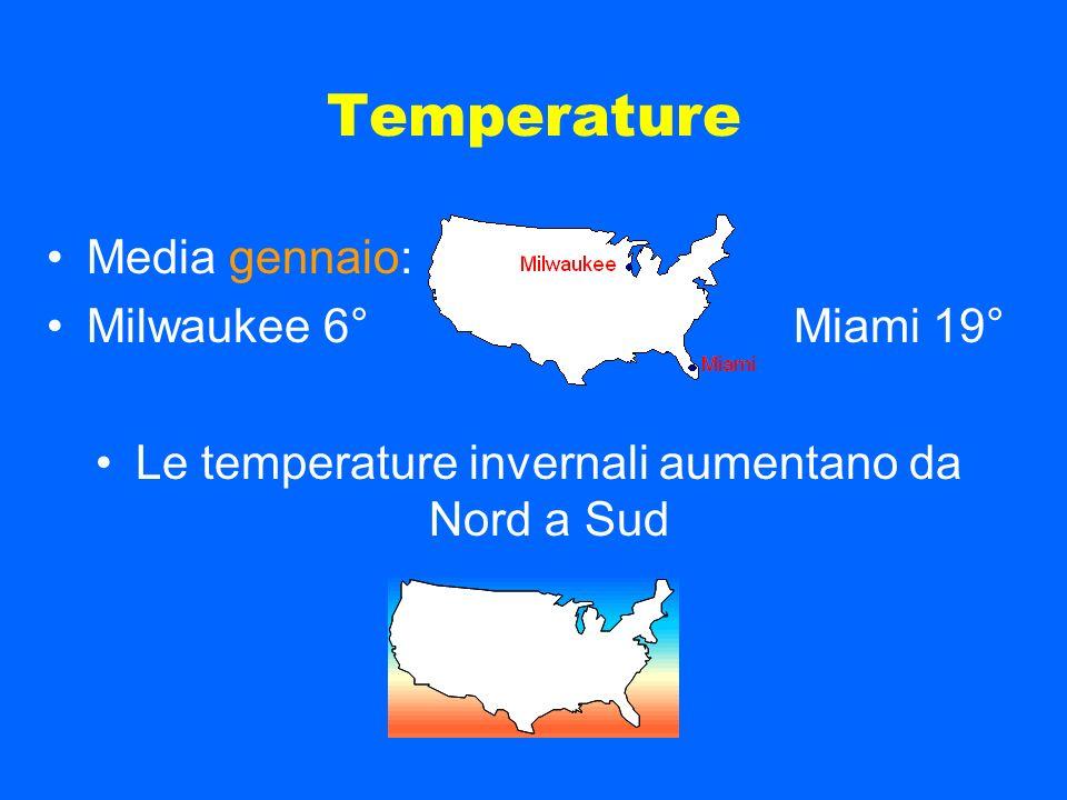 Masse daria N S polari S N tropicali