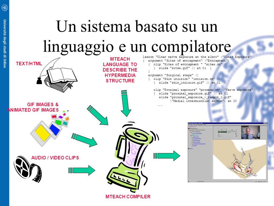 MTeach: un'architettura per la produzione multimediale in quasi tempo reale orientato alla didattica Pier Luca Montessoro Riccardo Cicuttini Davide Pi