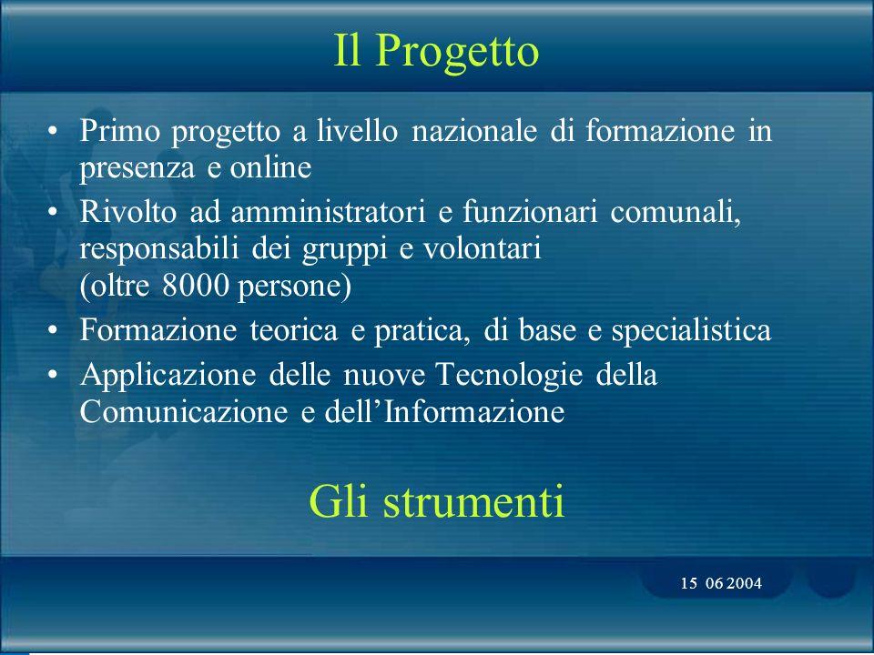 15 06 2004 Formazione e aggiornamento per la Protezione Civile