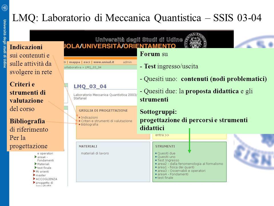 SSIS _ Laboratorio di Termodinamica Attività svolta in rete, nel contesto del corso Apprendimento in Rete, a supporto della sperimentazione incrociata