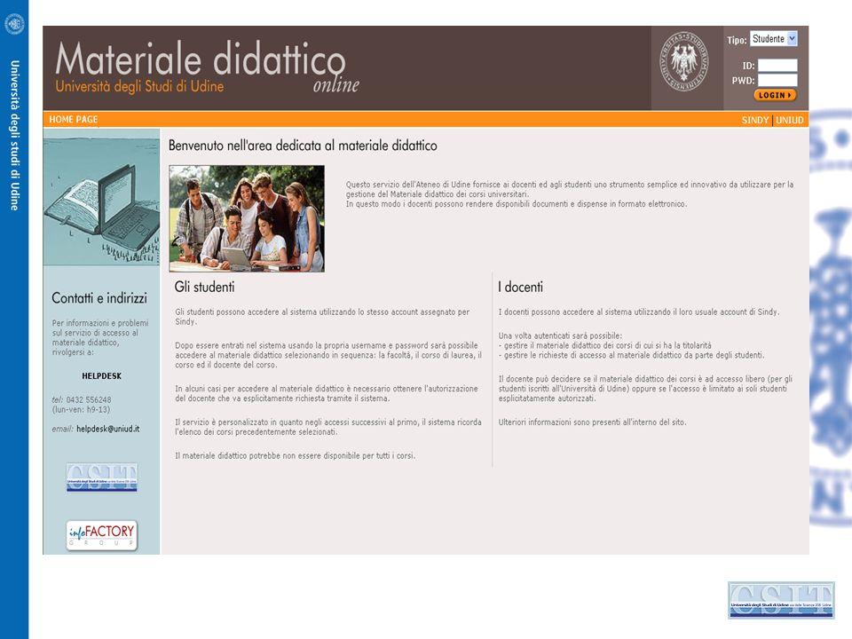 Università degli Studi di Udine si possono già annoverare: studi accreditati scientificamente su infrastrutture informatiche,infrastrutture informatic