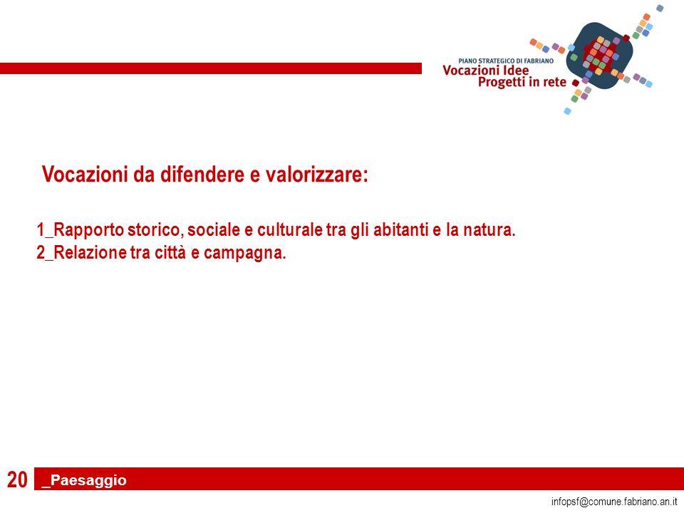 20 infopsf@comune.fabriano.an.it 1_Rapporto storico, sociale e culturale tra gli abitanti e la natura.