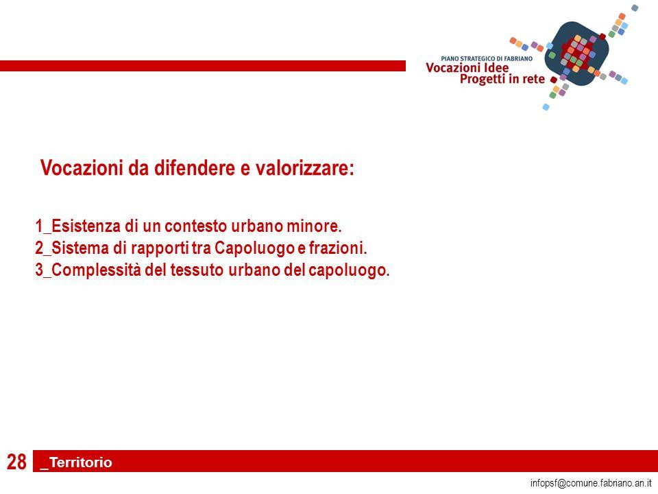 28 infopsf@comune.fabriano.an.it 1_Esistenza di un contesto urbano minore.