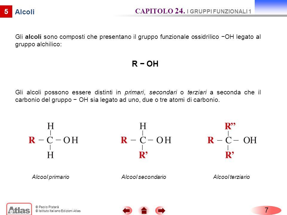© Paolo Pistarà © Istituto Italiano Edizioni Atlas 9 Fenoli I fenoli sono composti che hanno uno o più gruppi ossidrilici – OH legati direttamente ad atomi di carbonio dellanello del benzene.