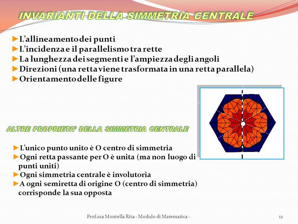 12Prof.ssa Montella Rita - Modulo di Matematica -