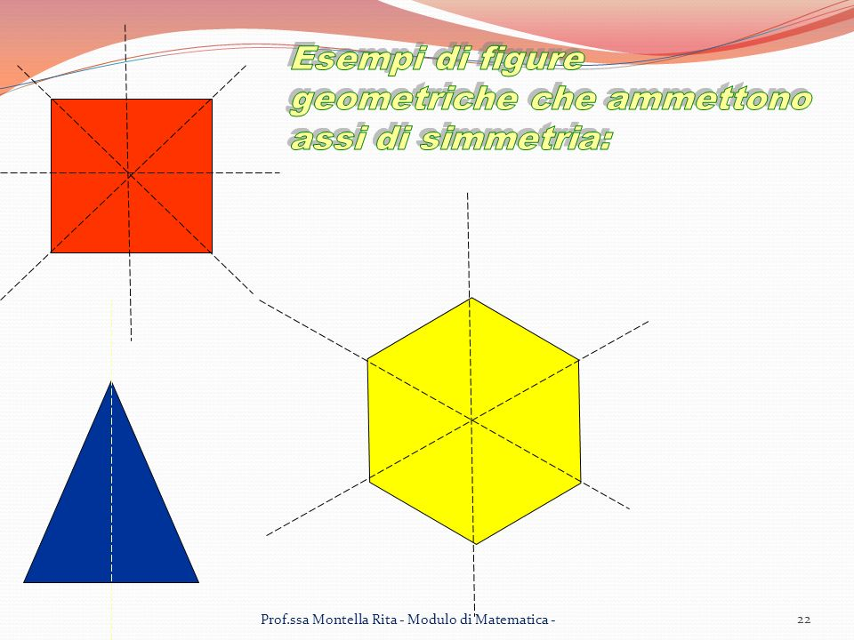 22 Prof.ssa Montella Rita - Modulo di Matematica -