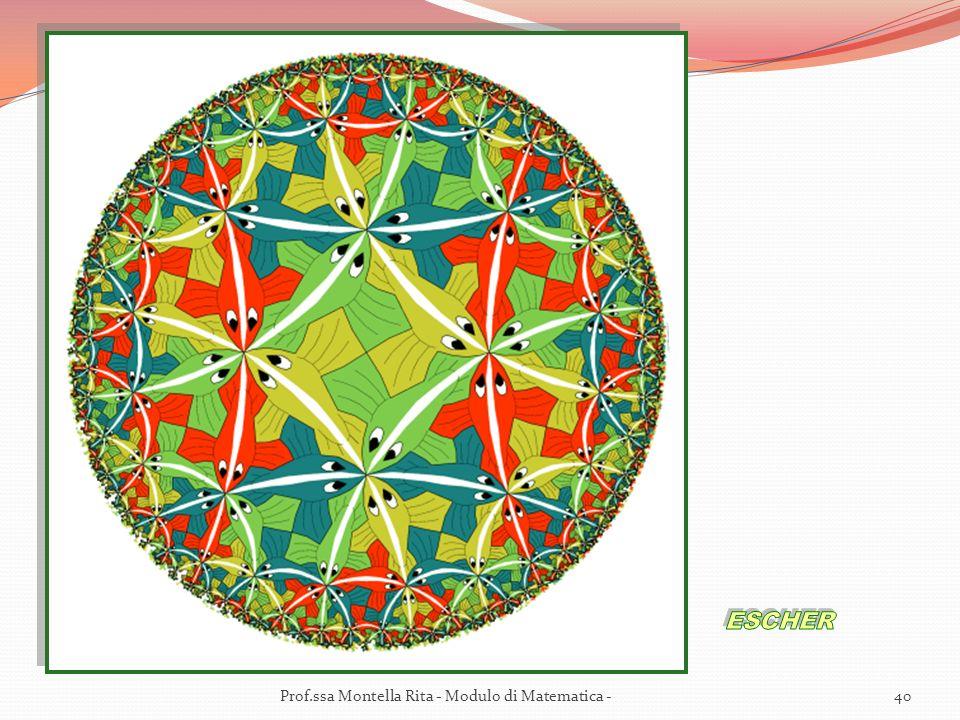 40Prof.ssa Montella Rita - Modulo di Matematica -