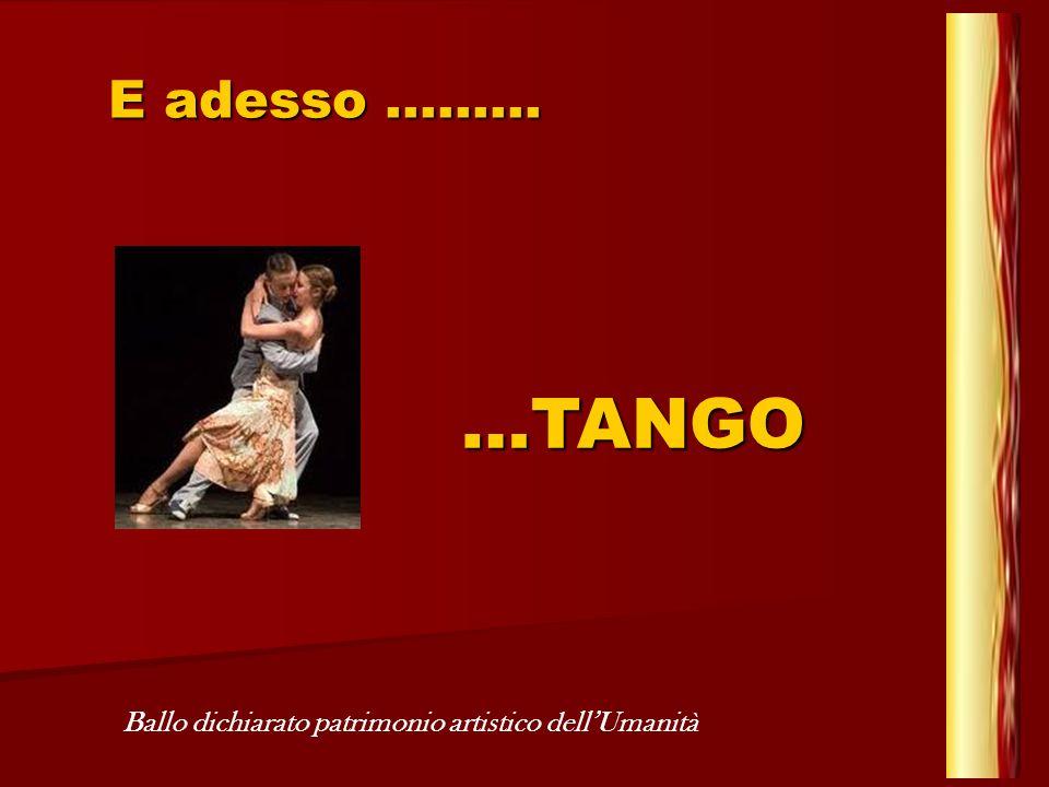 Linattesa decisione ha avuto unimmediata favorevole eco in tutto il mondo Il tango è uno straordinario mix di musica, ballo, poesia e spettacolo che, partito dallArgentina, ha riscosso un successo planetario Al di là del suono, dei colori, il Tango è seduzione, incantesimo, arte vera, pura emozione, capace di annullare ogni altra percezione L a v o r o i n p o w e r p o i n t