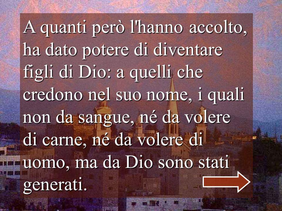 Betlemme é la casa di tutti Anche se non accolgono la tua Parola, non li abbandoni, FIGLIO, il mondo é la CASA che ti ho dato.