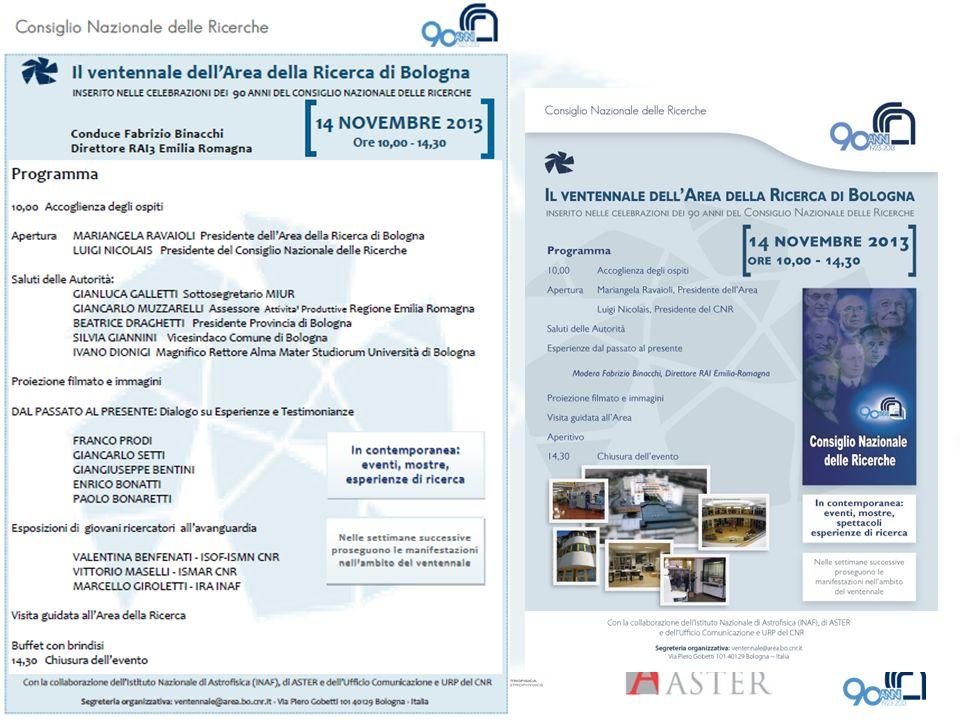 ASTER in Area ASTER è il consorzio tra Regione Emilia-Romagna, Università, Enti di Ricerca e Imprese per lo sviluppo di servizi e progetti comuni di interesse regionale atti a promuovere la ricerca industriale, il trasferimento tecnologico e l innovazione del tessuto produttivo dell Emilia-Romagna.