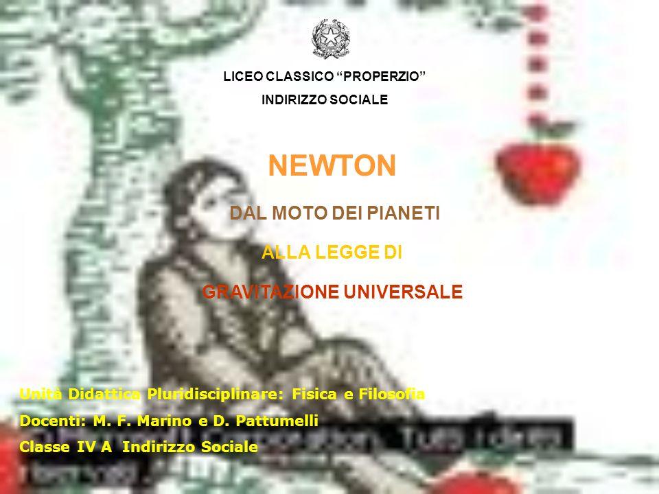 Unità Didattica Pluridisciplinare: Fisica e Filosofia Docenti: M.