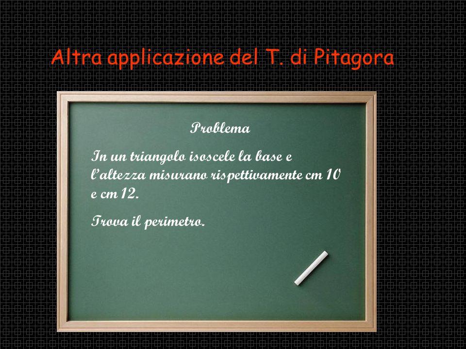 Applicazione del teorema alle figure piane