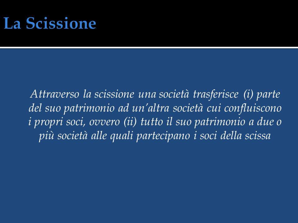Società A Società B Società A Società A y y x x z z w w x x y y w w z z La società A deve emettere capitale da assegnare ai soci w e z La società A de