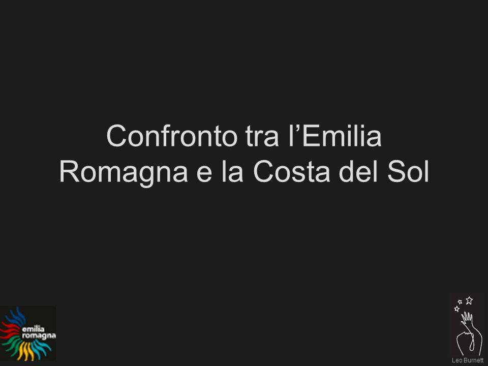 Leo Burnett Confronto tra lEmilia Romagna e la Costa del Sol