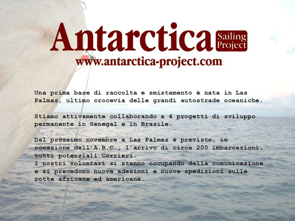 www.corrieridelmare.it info @ correosdelamar.com www.antarctica-project.com www.navigareavela.it