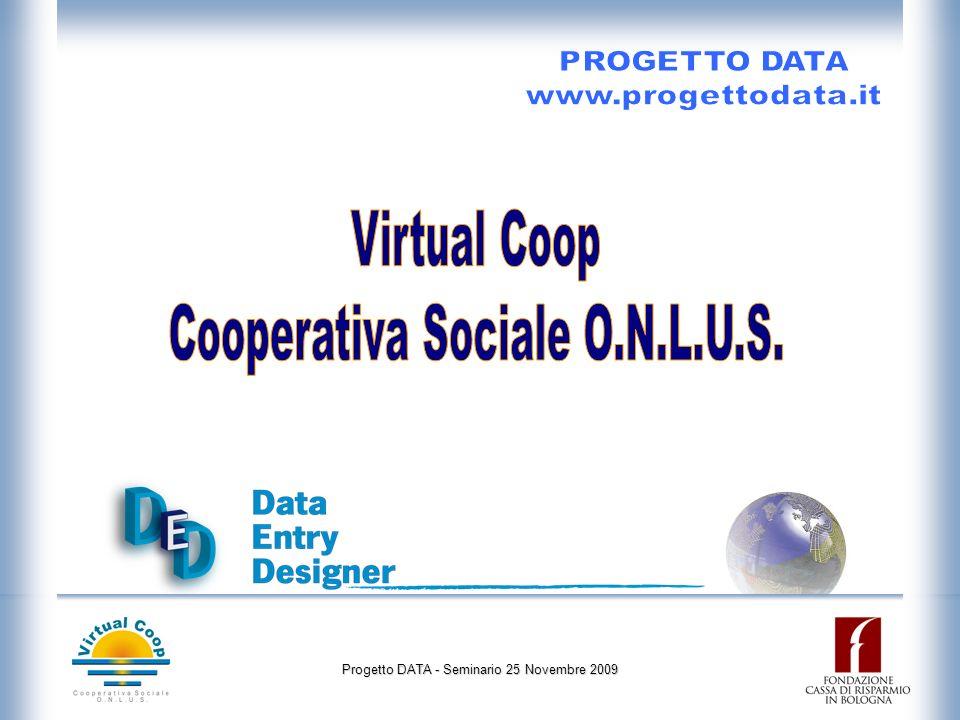 Progetto DATA - Seminario 25 Novembre 2009