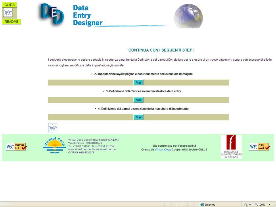 Progetto DATA - Seminario 25 Novembre 2009 Info utili Dimostrazione completa e guidata on-line su: www.progettodata.it Per una dimostrazione personalizzata e ulteriori dettagli sul DED: gtomaiuoli@virtualcoop.net Virtual Coop Cooperativa Sociale ONLUS: www.virtualcoop.net