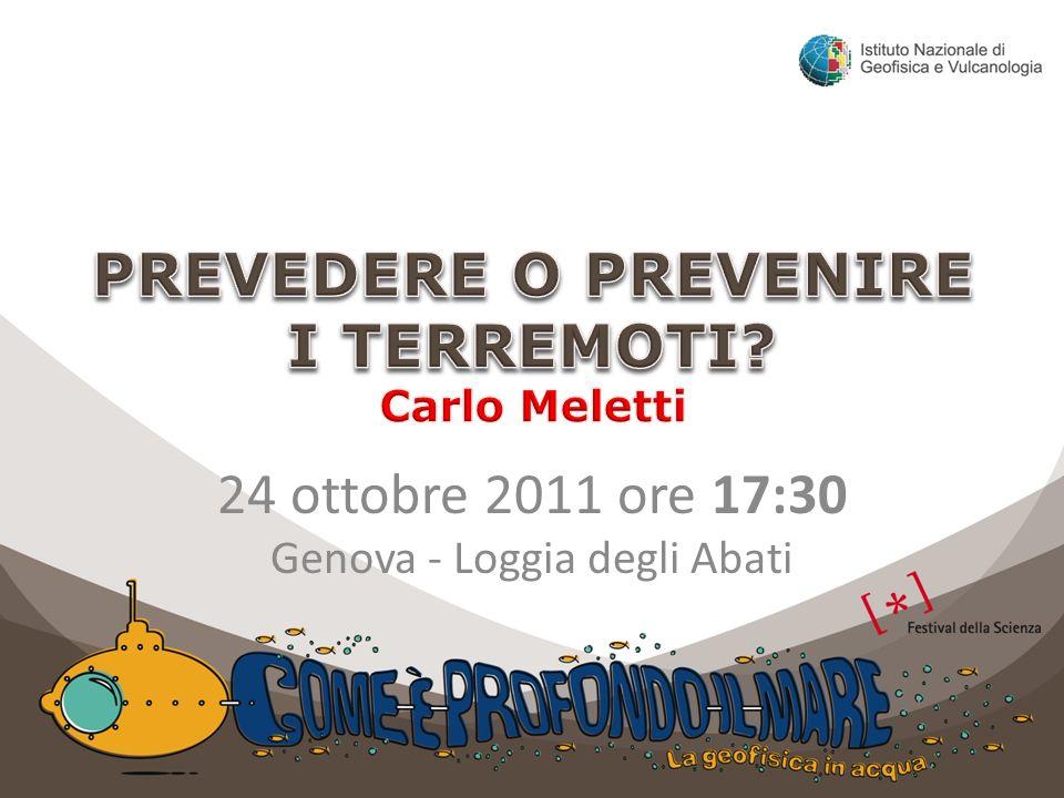 24 ottobre 2011 ore 17:30 Genova - Loggia degli Abati