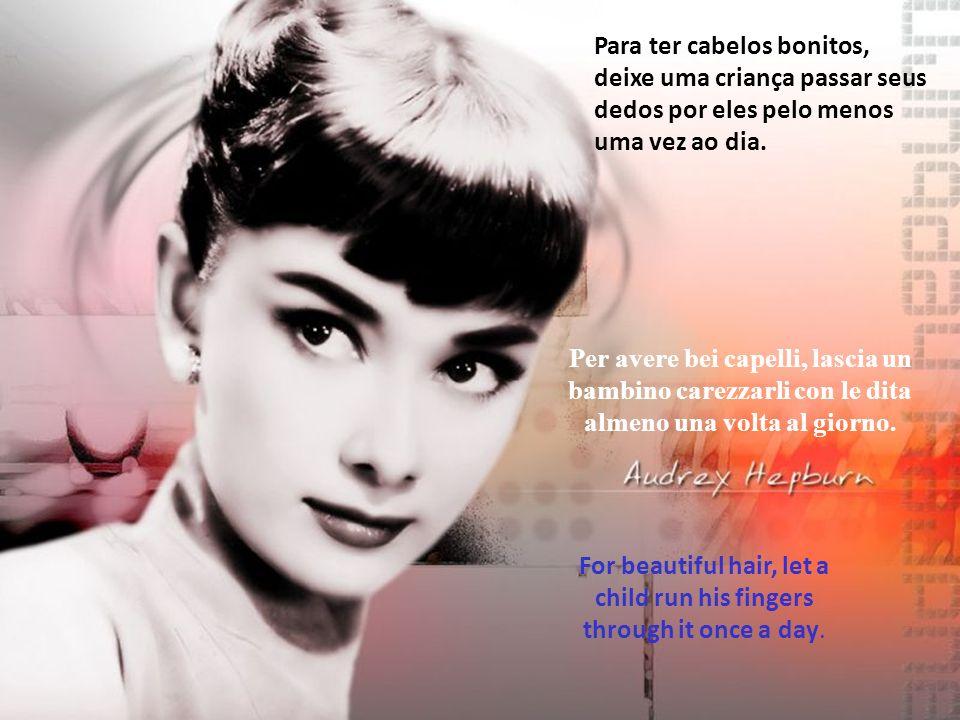 Vero Nome: Audrey Kathleen van Heemstra Hepburn-Ruston-Data di nascita: 04/05/1929 Luogo di nascita: Bruxelles - Belgio Data di morte: 20/01/1993 Luogo di morte: Tolochenaz - Canton Vaud – Svizzera-Altezza m 1,70.