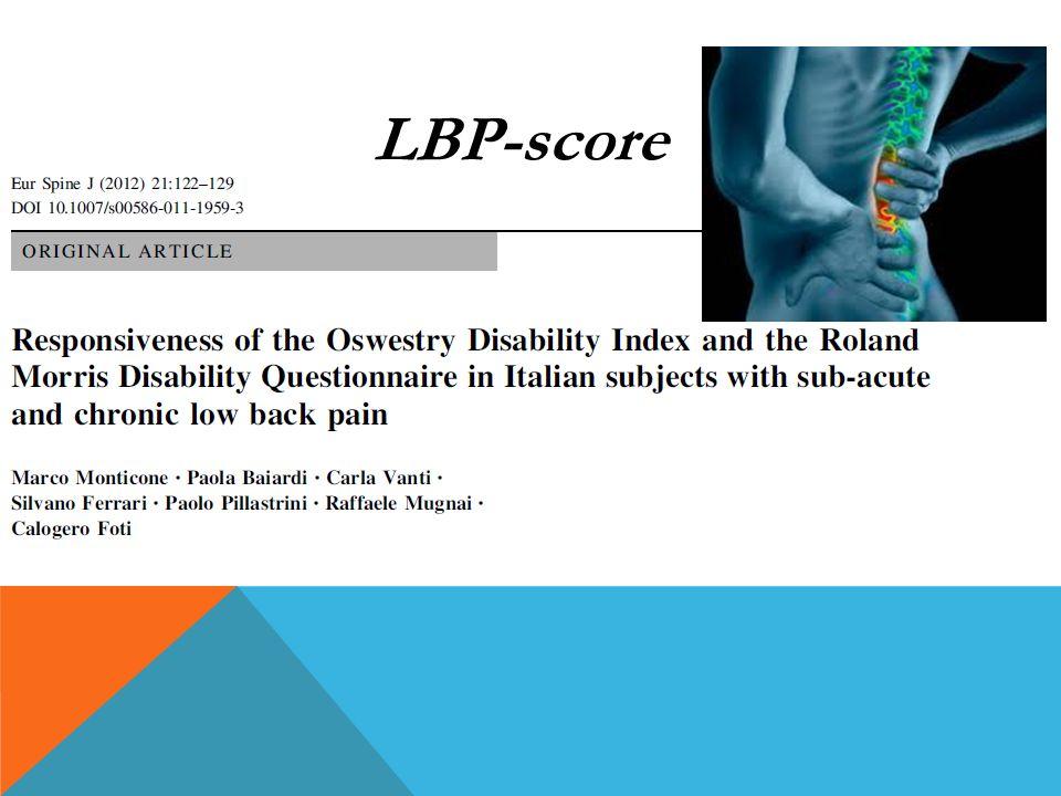 LBP-score