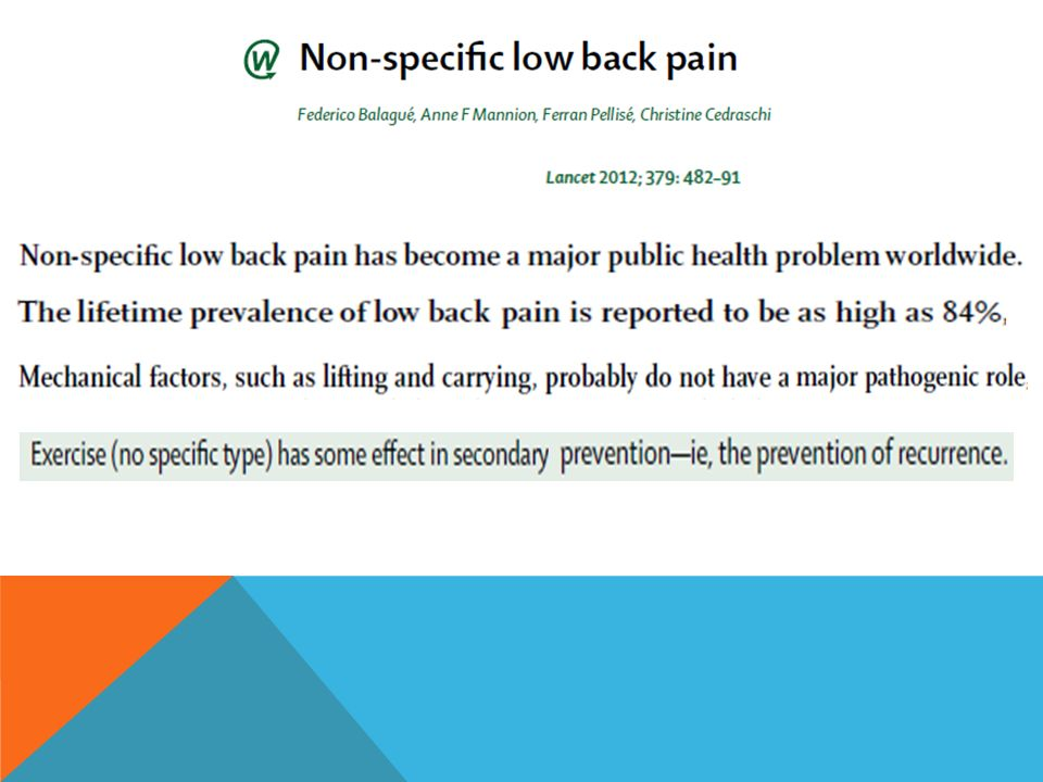 The costs of LBP are enormous and are attributed to both tangible costs (i.e.