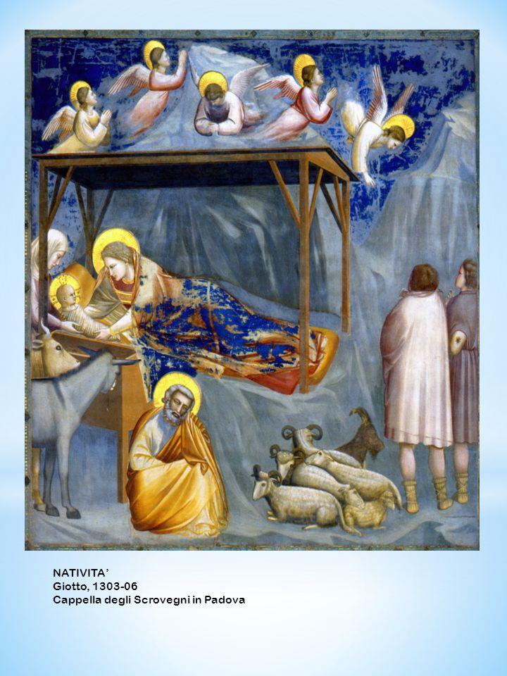 NATIVITA Giotto, 1303-06 Cappella degli Scrovegni in Padova