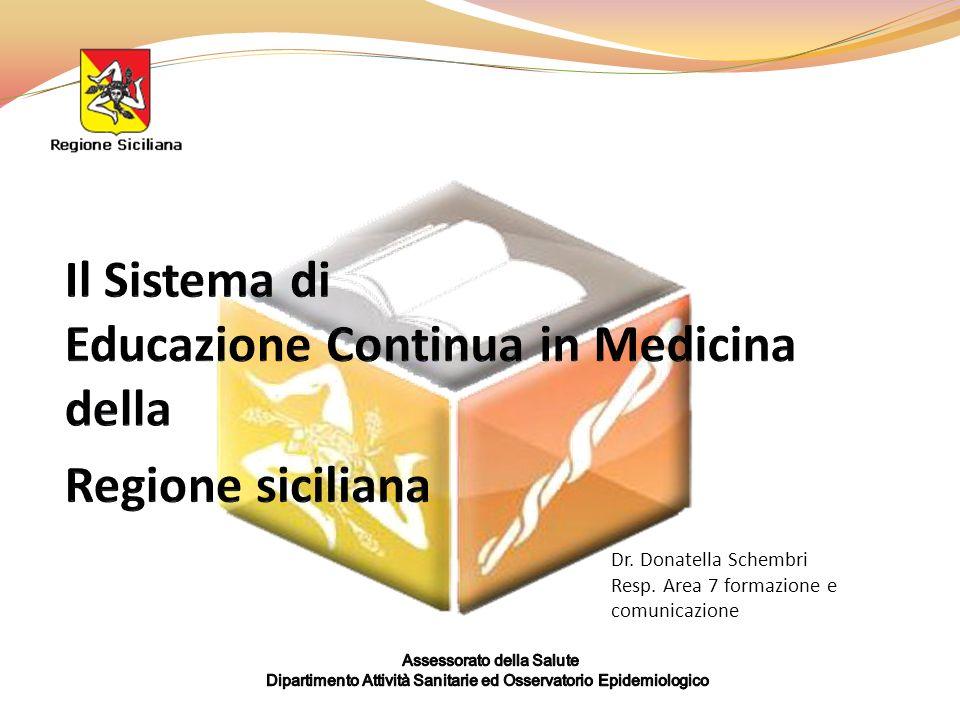 Dr. Donatella Schembri Resp. Area 7 formazione e comunicazione