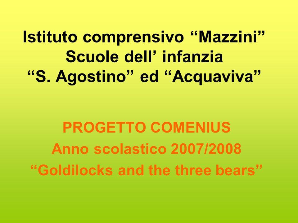 Istituto comprensivo Mazzini Scuole dell infanzia S.