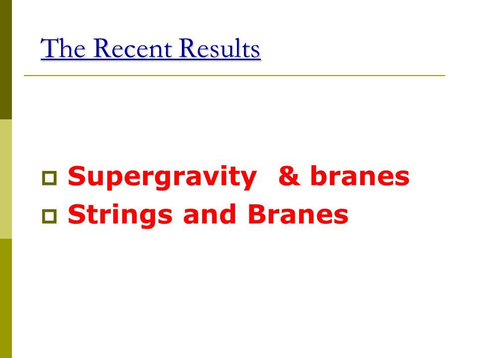 Brane worlds, Cosmology and SM Il modello standard è identificato con la teoria di gauge che vive su una D3 brana. La D3 brana fluttua nello spazio te