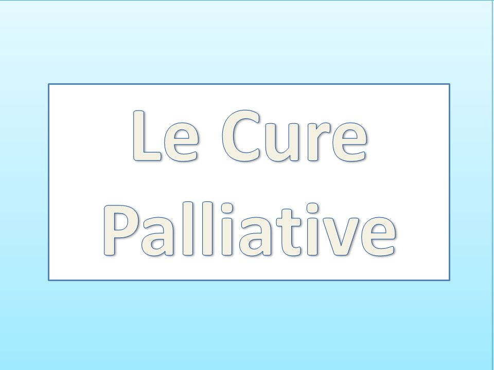 Palliative care is an approach that improves the quality of life of patients and their families facing the problem associated with life-threatening il