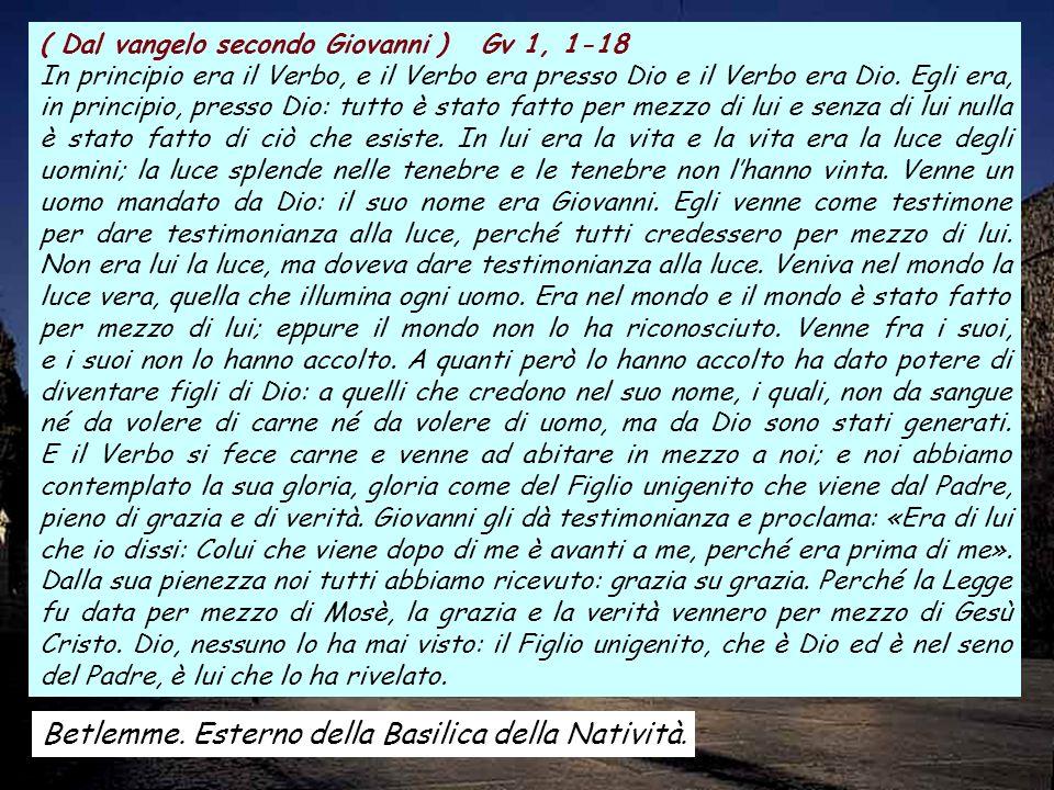ALLELUIA 1Tm 3, 16 Gloria a te, o Cristo, annunziato a tutte le genti; gloria a te, o Cristo, creduto nel mondo.