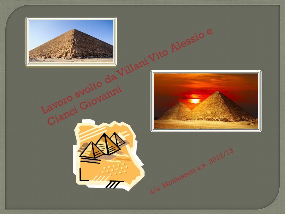 La piramide è innanzitutto un monumento funerario caratteristico dell Egitto che, nell antichità, era chiamata mer.
