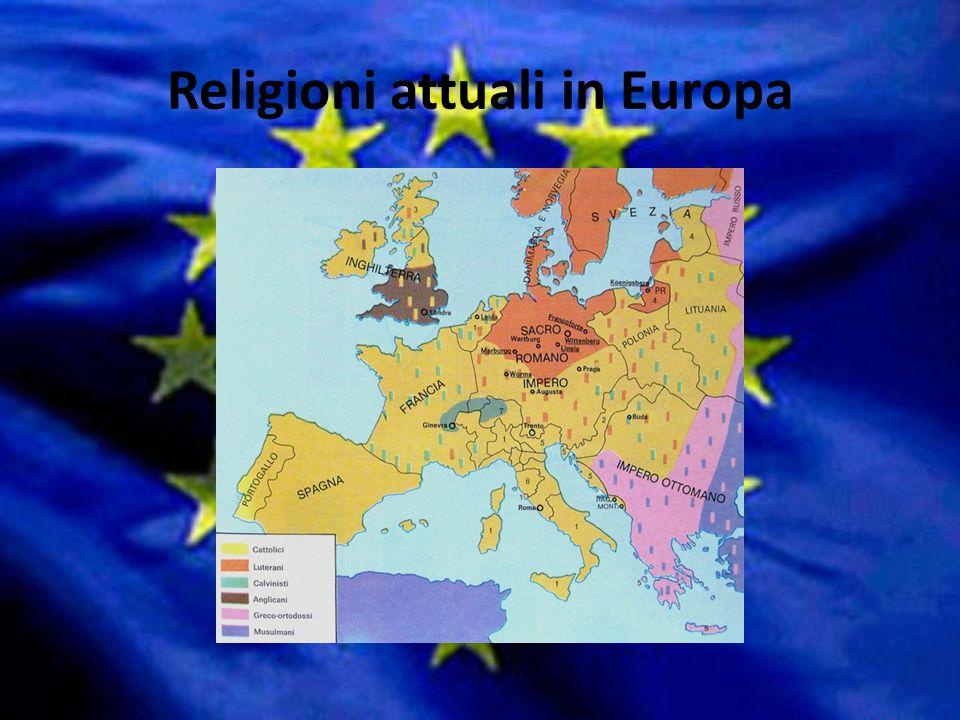 Nei giorni nostri in Europa non ci sono più guerre di religione ma si cerca di dialogare.