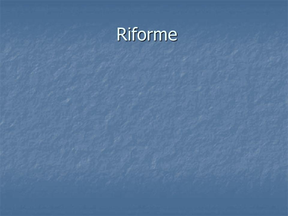 Riforme Riforme