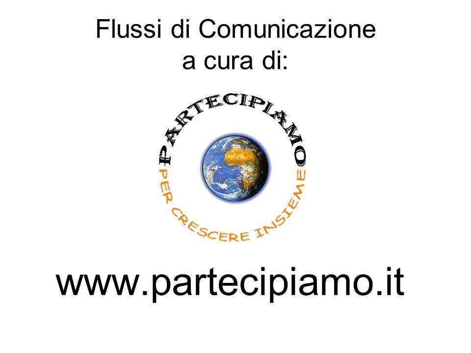 Flussi di Comunicazione a cura di: www.partecipiamo.it