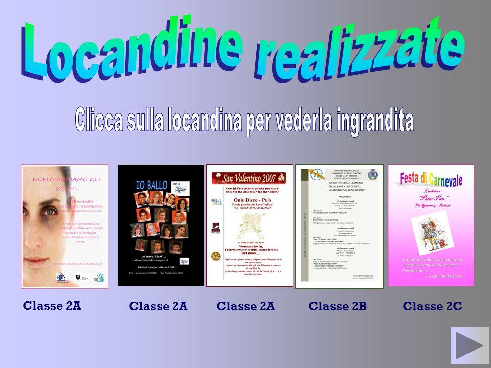 Classe 2A Classe 2BClasse 2C Classe 2A