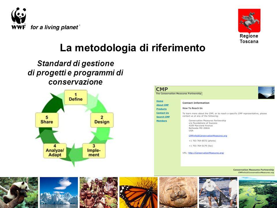 Regione Toscana Standard di gestione di progetti e programmi di conservazione La metodologia di riferimento