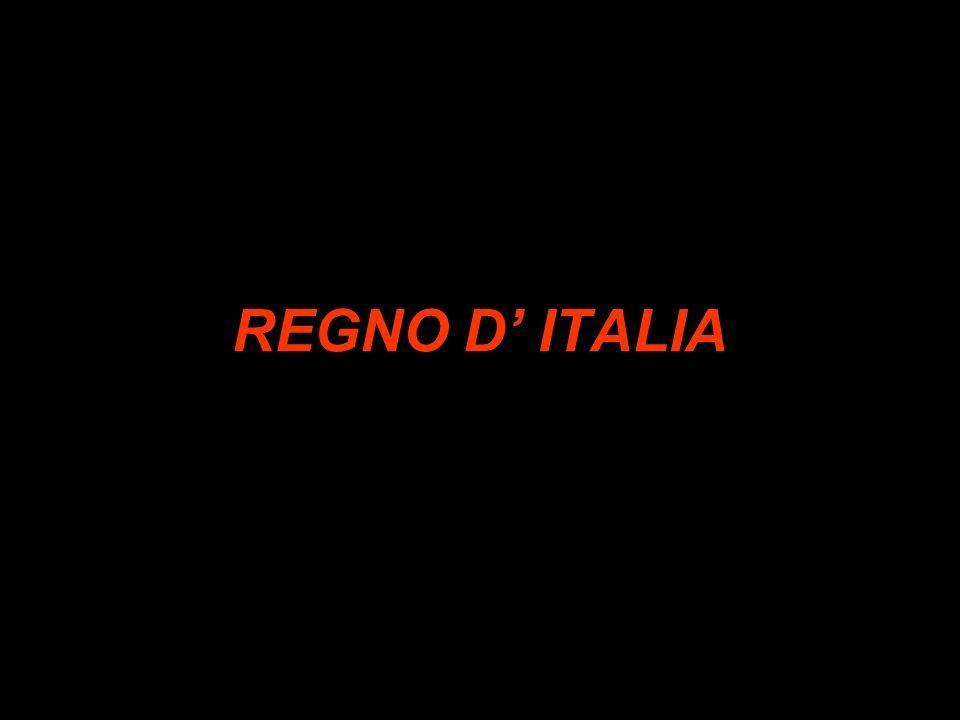 REGNO D ITALIA