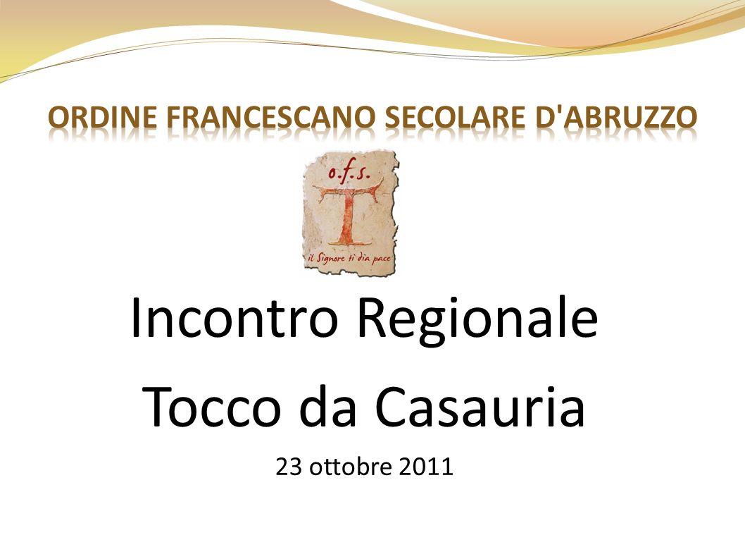 Incontro Regionale Tocco da Casauria 23 ottobre 2011