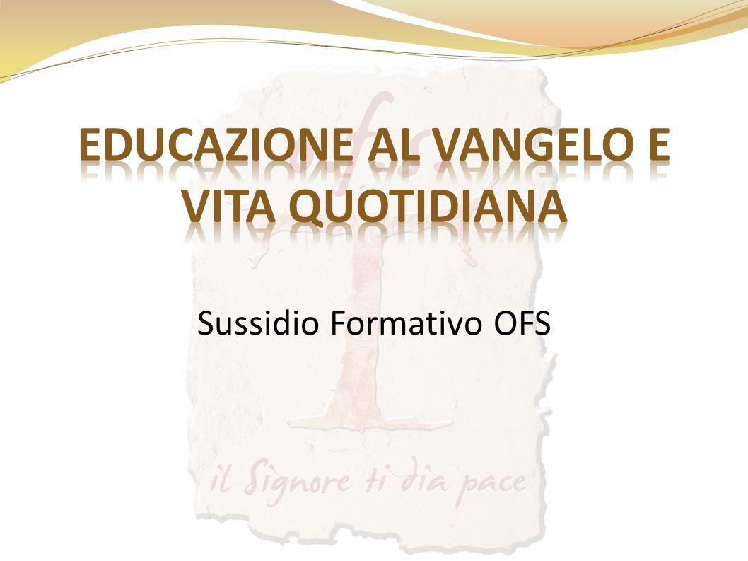 Sussidio Formativo OFS