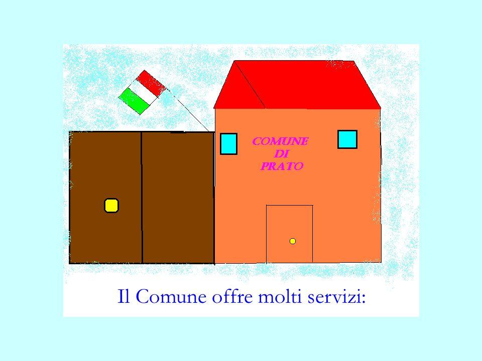 Il Comune offre molti servizi: