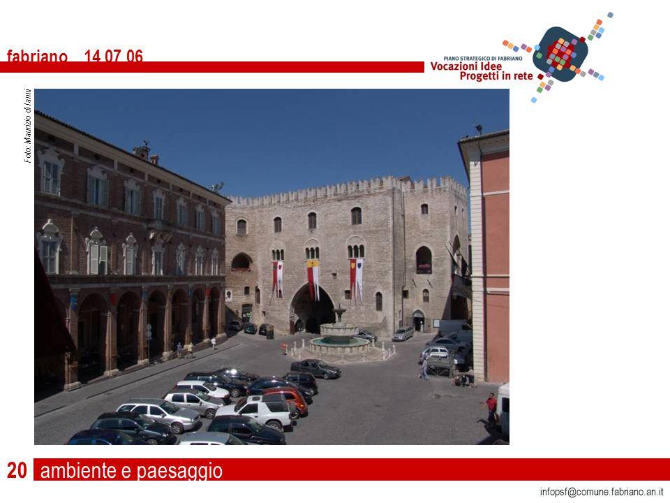 fabriano 14 07 06 20 infopsf@comune.fabriano.an.it Foto: Maurizio di Ianni ambiente e paesaggio