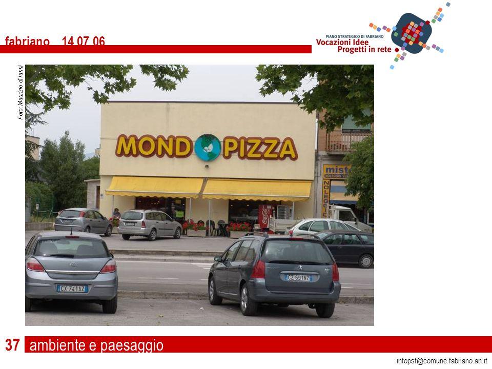 ambiente e paesaggio fabriano 14 07 06 infopsf@comune.fabriano.an.it Foto: Maurizio di Ianni 37