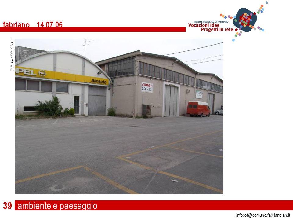 ambiente e paesaggio fabriano 14 07 06 infopsf@comune.fabriano.an.it Foto: Maurizio di Ianni 39