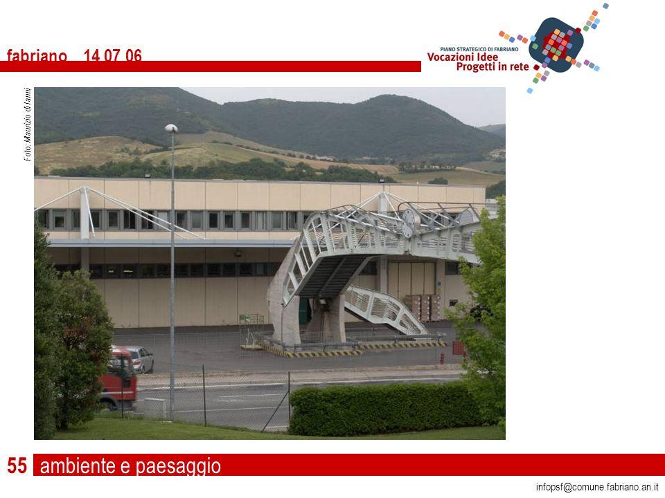 ambiente e paesaggio fabriano 14 07 06 infopsf@comune.fabriano.an.it Foto: Maurizio di Ianni 55