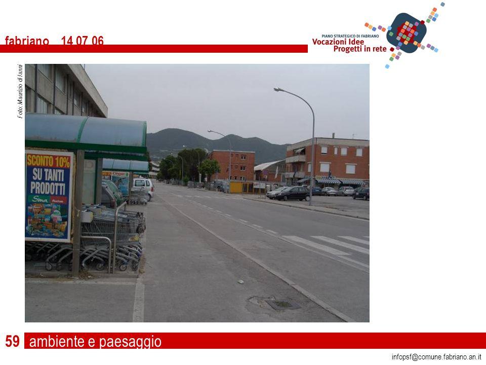 ambiente e paesaggio fabriano 14 07 06 infopsf@comune.fabriano.an.it Foto: Maurizio di Ianni 59
