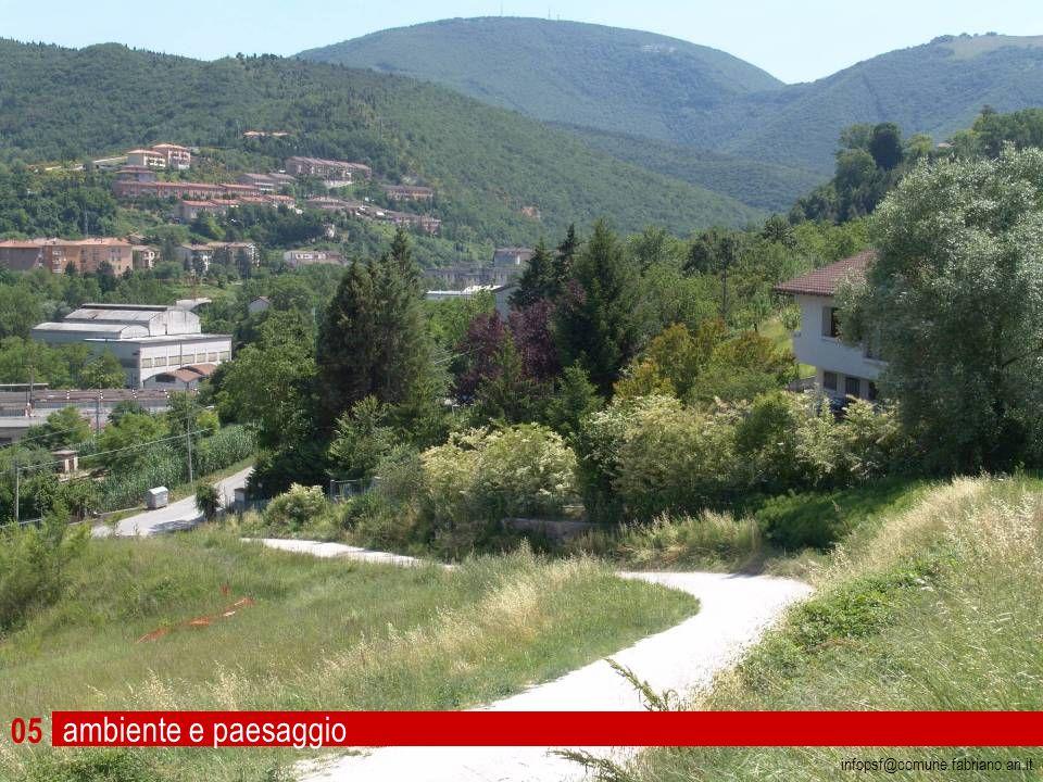 ambiente e paesaggio fabriano 14 07 06 infopsf@comune.fabriano.an.it Foto: Maurizio di Ianni 47