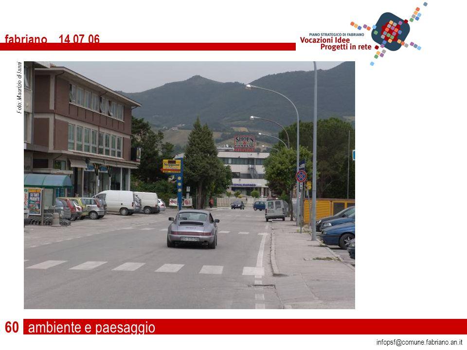 ambiente e paesaggio fabriano 14 07 06 infopsf@comune.fabriano.an.it Foto: Maurizio di Ianni 60