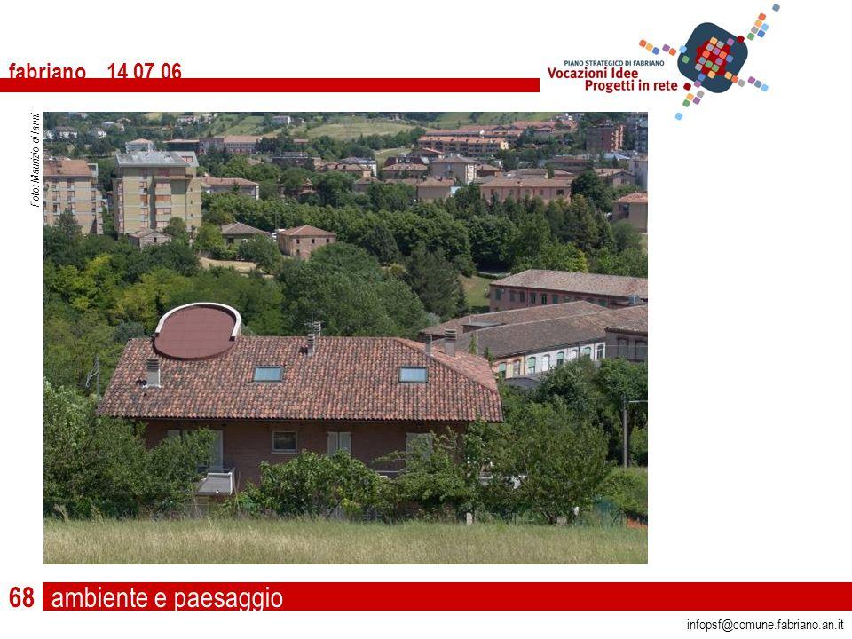 ambiente e paesaggio fabriano 14 07 06 infopsf@comune.fabriano.an.it Foto: Maurizio di Ianni 68